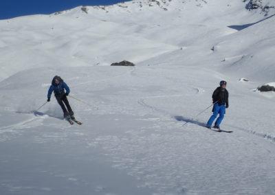 Raid ski - Tête de Malacoste - Comme ça on peut discuter
