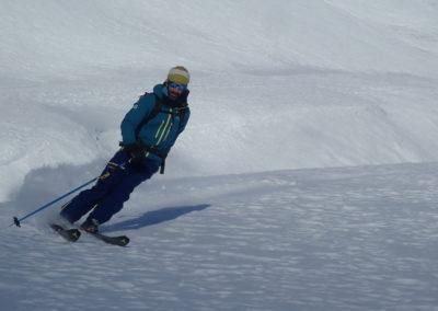 Raid ski - Tête de Malacoste - Pépouze