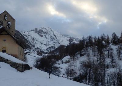 Raid ski - Couloir Eyssilloun - Back to Fouillouse