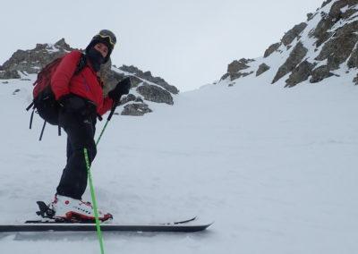 Raid ski - Couloir Eyssilloun - Ugo, facile