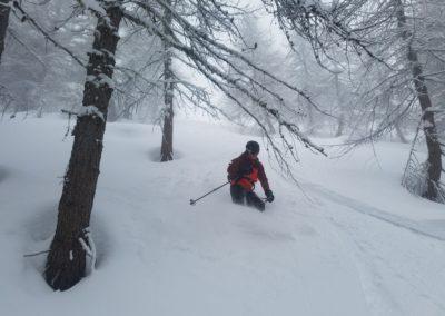 Ski randonnée Freissinières - Une reprise en beauté pour Ju