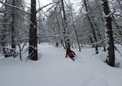Ski randonnée Freissinières - Plât de résistance