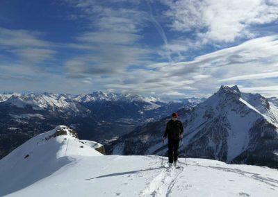 Tête des Raisins - Ski rando - Ju en finit avec la montée